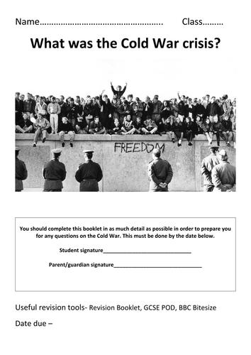Edexcel AQA Cold War Revision Workbook
