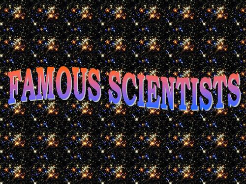 PPT PRESENTATION OF A-Z SCIENTIST
