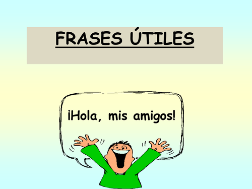 Useful Spanish Classroom Phrases for Pupils