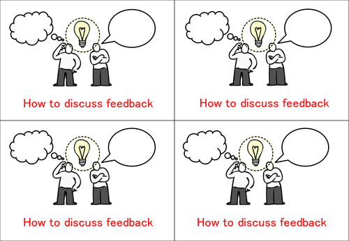 Discussing Feedback Handout