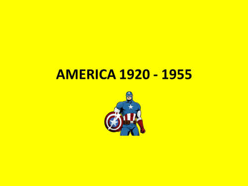 America 1920s revision