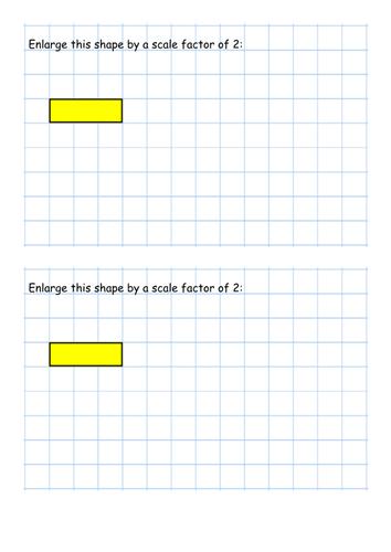 Enlargement (without a centre)