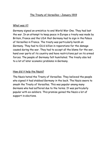 OCR GCSE History B. Life in Nazi Germany lesson 2. How did Hitler become Chancellor?