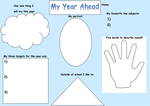 Transition/ Back to school activities | Teaching Resources