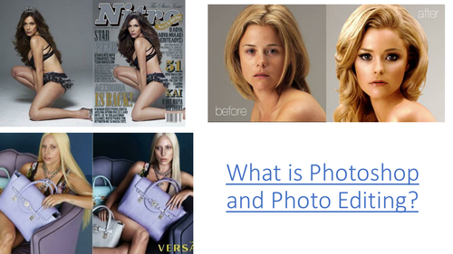 What is Photoshop and Photo Editing