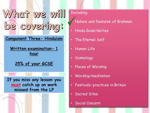 GCSE EQUQAS Hinduism- The nature of Brahman