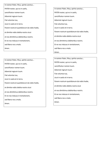 Latin lessons and some resources based on Cambridge Latin Course book I