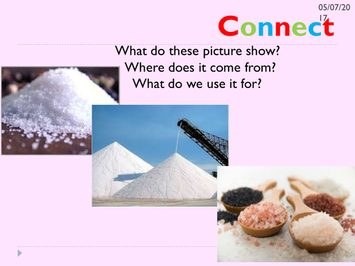 KS3 lessons on making salts