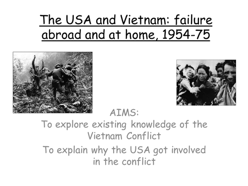 AQA GCSE, Vietnam, 1954-64, background to the conflict