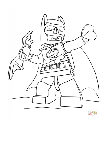 Lego Colouring Pictures