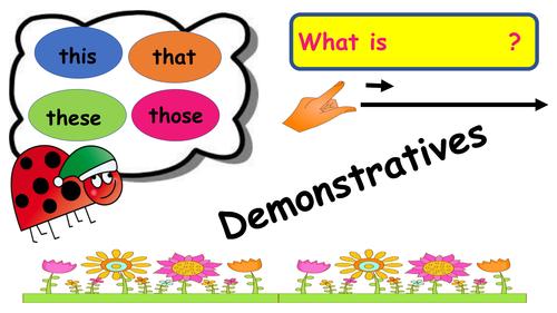 Demonistratives