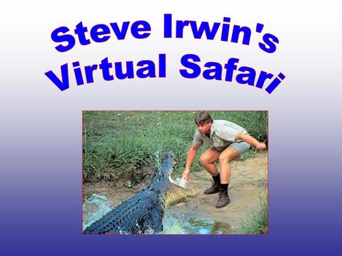 Adaptation - Steve Irwin style!