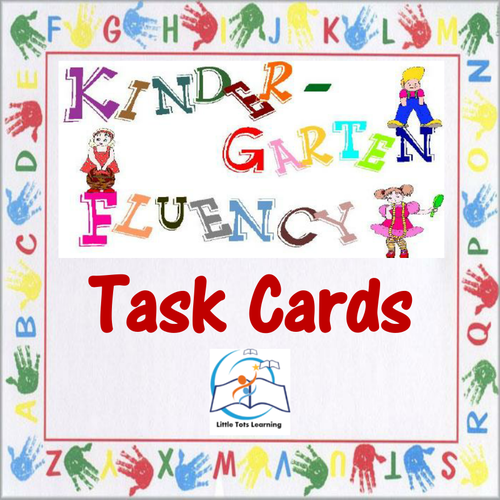 Kindergarten Fluency | Kindergarten Fluency Task Cards