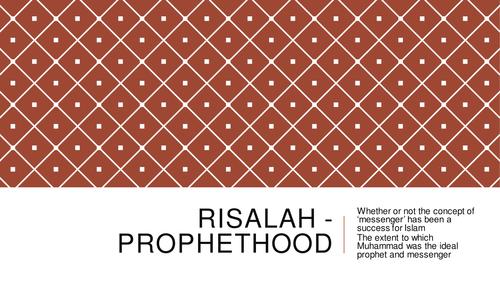 Theme 2 Religious Concepts - Risalah