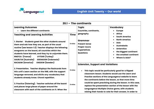 english is a world language topic