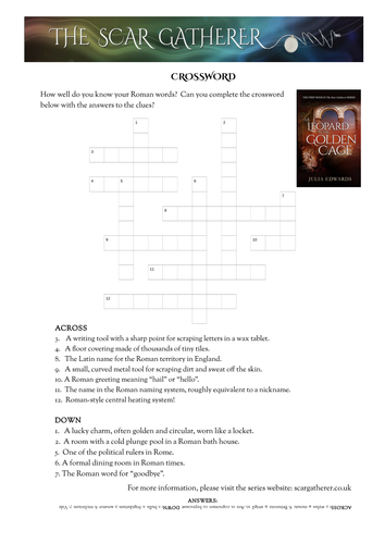 Roman britain crossword and word search now free by juliacedwards roman britain crossword and word search now free by juliacedwards teaching resources tes m4hsunfo
