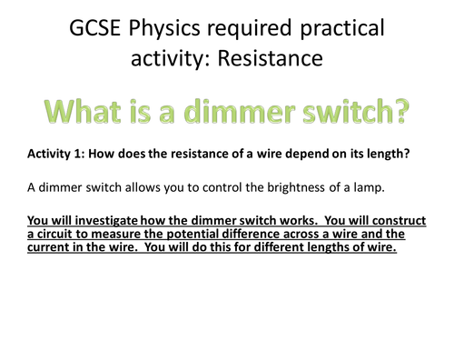 gcse required practical