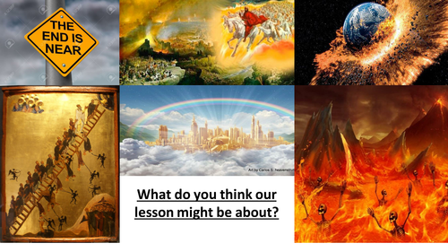 OCR GCSE - Christianity - Lesson 9 - Eschatological beliefs