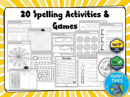 Spelling Activities & Games