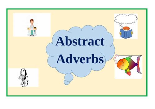 Abstract Adverbs