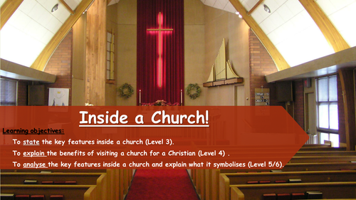 Christianity - Inside a Church