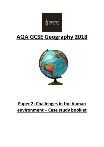 AQA Geography GCSE 2018