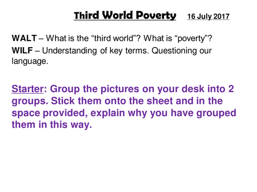 Third World Poverty - Introduction