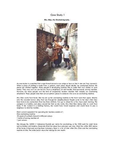 Microfinance and KIVA Loans - 3 lessons