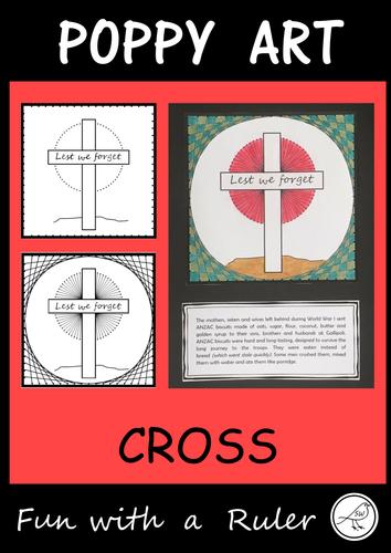 Poppy Art – ANZAC Day, Remembrance Day, Memorial Day, Armistice Day, etc  (Design B)