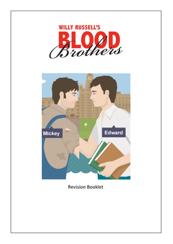Blood Brothers Revision Booklet