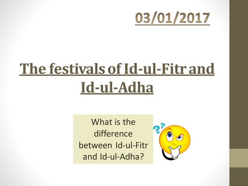 New Spec The festivals of Eid