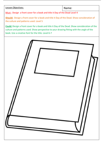 A set of 14 Art cover worksheets with success criteria.