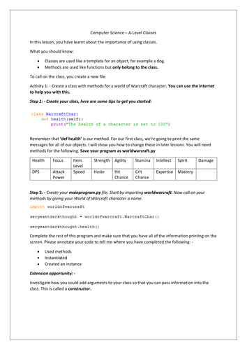 Elementary school generalization and pattern matching resources