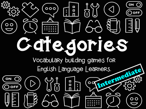 Categories: Vocabulary Building Games (Intermediate Level)