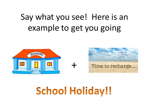 End of term RE dingbat keyword game, or 25 starters