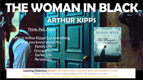 The Woman in Black: Arthur Kipps!