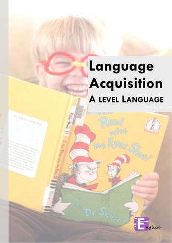 A Level Language Childhood Language Acquisition- Verbal