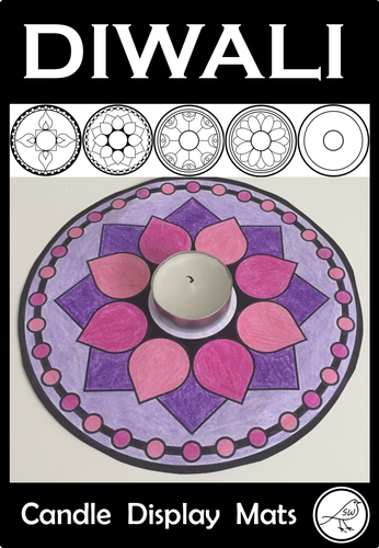 Diwali – Candle Display Mats
