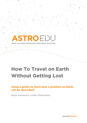How to Travel on Earth Without Getting Lost
