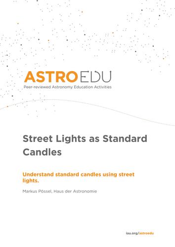 Street Lights as Standard Candles