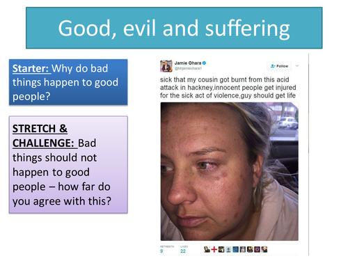 2.3 Good, evil and suffering - Topic: Crime and Punishment through Islam - New Edexcel GCSE