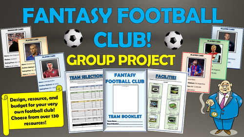 Fantasy Football Club Group Project!