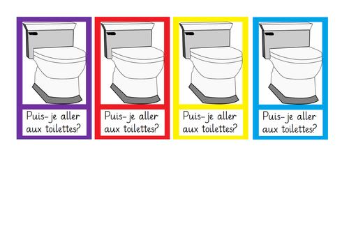 Multilingual Toilet Passes