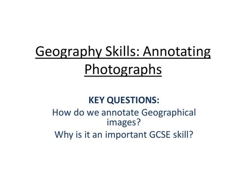 Geography Fieldwork Skills