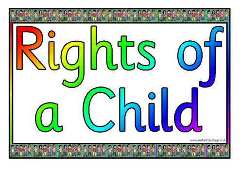 Rights of the child lesson