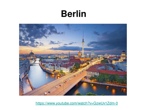 Berlin / Holidays in the future