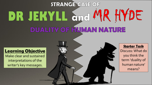 duality of human nature in macbeth and dr jekyll and mr hyde essay Literary analysis essay of dr jekyll and mr hyde, and the theory of duality in human nature in the strange case of dr jekyll and mr hyde by robert louis stevenson.
