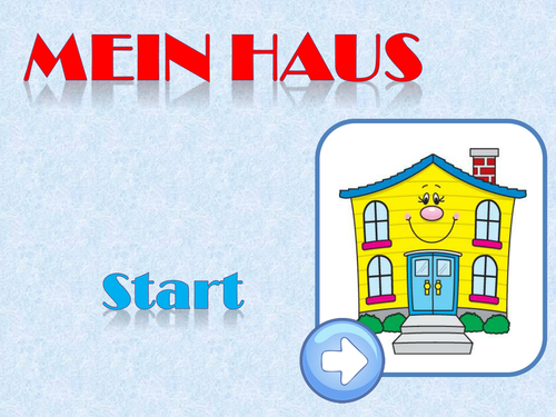 Mein Haus / Wo ich wohne / Bei mir / Zimmer / My house / Where I live / Rooms in a house
