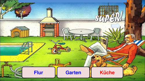 Mein Haus / Wo ich wohne / Bei mir / My house / Where I live / Zimmer / Rooms in a house