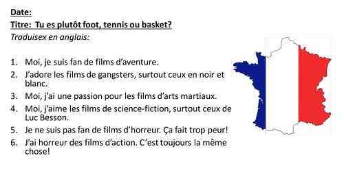 Les sports / Sports